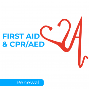 First Aid & CPR/AED Recertification